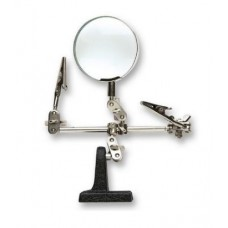 H11  ART27025  MAGNIFYING GLASS WITH ADJUSTABLE CLIPS