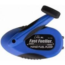 F106  PL1652B FAST FUELLER HAND FUEL  PUMP BLUE
