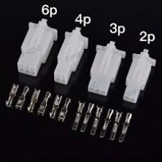 G518 1025081 6 WAY 2.8MM TERMINAL KIT (PLUG M+FM)