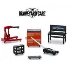 GRAVEYARD CARS TV SERIES 12 SHOP TOOLS 1:64